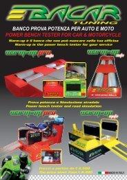 banco prova potenza per auto e moto power ... - Auto Consulting