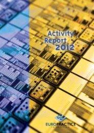 Annual report 2012 - Europractice-IC