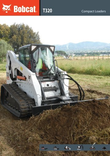 T320 Compact Tracked Loader Specifications - Bobcat.eu