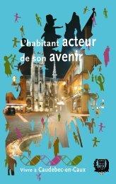 Vivre à Caudebec-en-Caux L'habitant acteur de son avenir