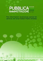 The information technology portal for central and local Italian Public ...