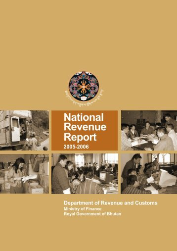 Revenue Report for (2005-2006) - Ministry of Finance