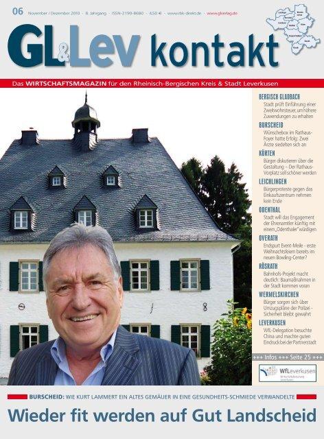 Wieder fit werden auf Gut Landscheid -  GL VERLAGS GmbH