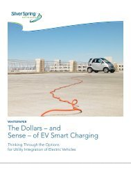 The Dollars – and Sense – of EV Smart Charging - Silver Spring ...