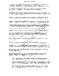 ordinance no.1980 an ordinance accepting ... - City of Jonesboro