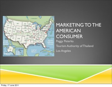 Marketing to the American Consumer - eTATjournal.com