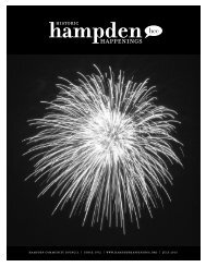 July 2013 (pdf) - Hampden Community Council