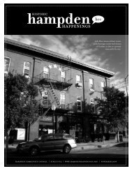 November 2009 (pdf) - Hampden Community Council