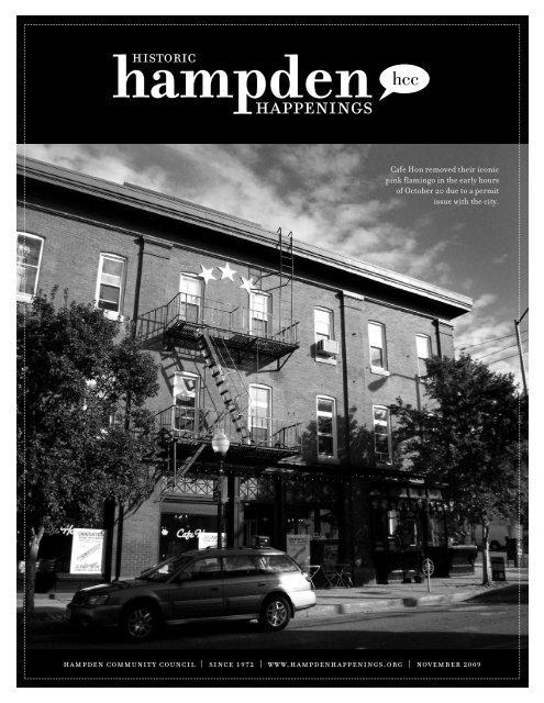 November 2009 (pdf) - Hampden Community Council