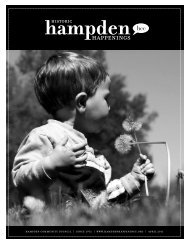 April 2011 (pdf) - Hampden Community Council