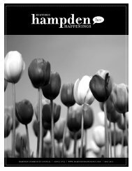 May 2011 (pdf) - Hampden Community Council