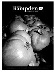 October 2012 (pdf) - Hampden Community Council