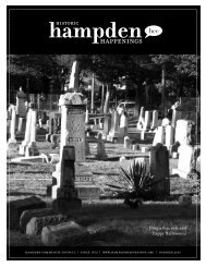 October 2010 (pdf) - Hampden Community Council