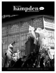 April 2013 (pdf) - Hampden Community Council