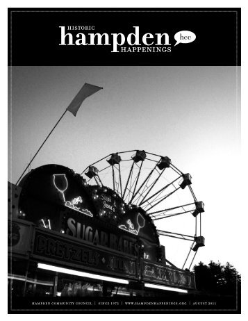 August_2011 (pdf) - Hampden Community Council