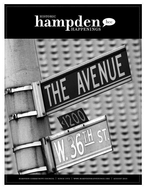 August 2010 (pdf) - Hampden Community Council