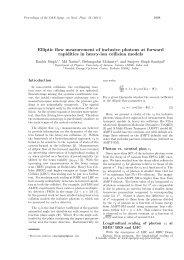 Elliptic flow measurement of inclusive photons at ... - Sympnp.org