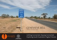 GENEVIEVE BELL - Adelaide Thinkers in Residence - SA.Gov.au