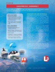 ESSCO SANDWICH RADOMES - L-3 Communications