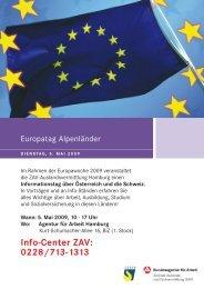 Europatag Hamburg, Agentur für Arbeit - Verein.biz