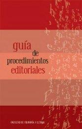 Orientación para publicaciones - Facultad de Filosofía y Letras ...