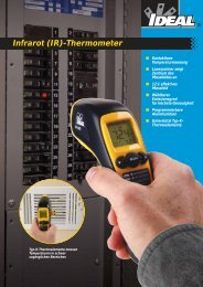 Infrarot (IR)-Thermometer - IDEAL INDUSTRIES