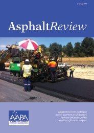 Asphalt Review - June/July 2013 - Australian Asphalt Pavement ...