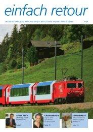 Juni 2008 - Gornergrat Bahn