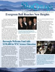 Evergreen Ball Reaches New Heights - Friends of the Smokies