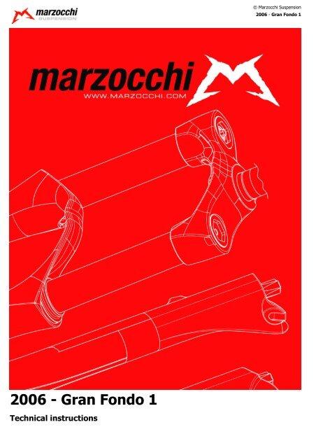 V-BRAKE adaptador 2006 Marzocchi