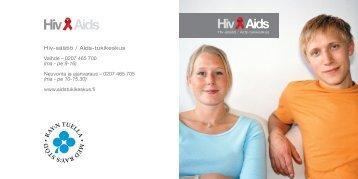 ma - pe 10-15.30 - HIV Tukikeskus