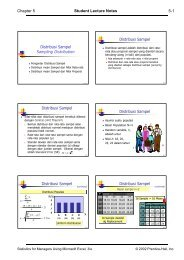 Chapter 5 Student Lecture Notes 5-1 Distribusi ... - Blog Staff UI