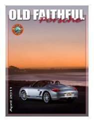 36 April 2011 - Yellowstone Region - Porsche Club of America