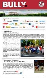 Bully Newsletter Februar 2012 - zum SC Frankfurt 1880