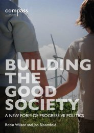 Building the Good Society - Support
