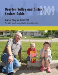 Family and Community Support Services - Town of Drayton Valley