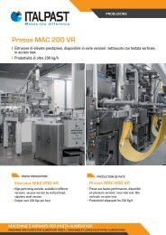 Pressa MAC 200 VR - Italpast