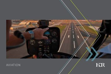 HDR Aviation Services Brochure - HDR, Inc.