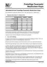Jahresbericht - Feuerwehr Neukirchen-Vluyn