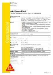 SikaWrap®-230C/45 - Sika Italia SpA