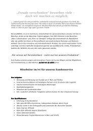 Mitarbeiter (m/w) für unseren Kundenservice - Buchwissenschaft