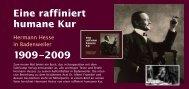 Eine raffiniert humane Kur 1909–2009 - Hermann Hesse Portal