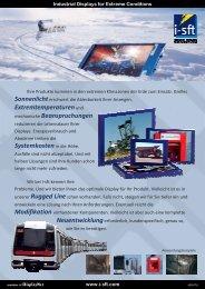 i-sft Flyer d 300 - i-sft GmbH