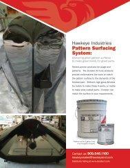 Plug & Pattern Surfacing Brochure - Hawkeye Industries