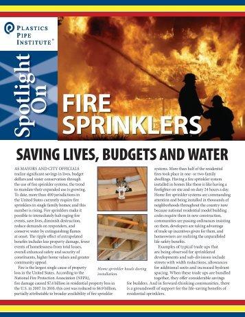 Fire Sprinkler - Plastics Pipe Institute