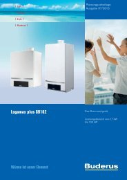 Logamax plus GB162 - Buderus