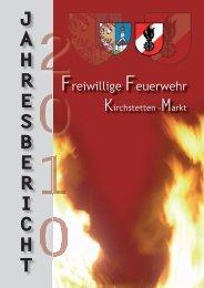 Jahresbericht 2010 - FF Kirchstetten - Marktgemeinde Kirchstetten