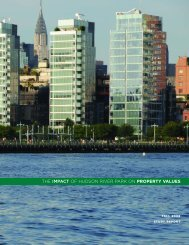 Study: The Impact of Hudson River Park on Property Values