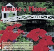 8002 Reasons to Buy Your First Home.........................Page 4 In home ...