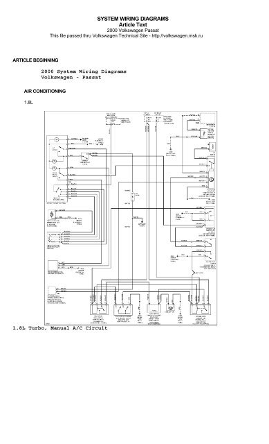 System 2000 Wiring Diagram